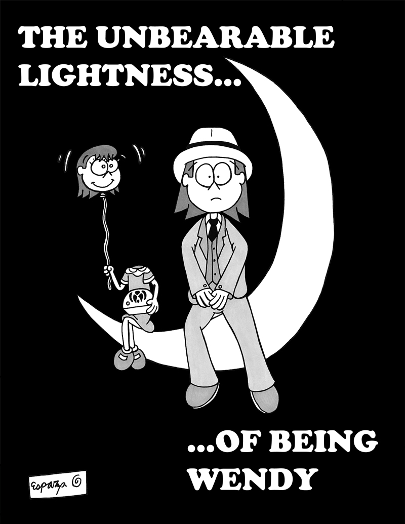 THE UNBEARABLE LIGHTNESS OF BEING WENDY (COVER)